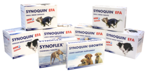 Synoquin Product Range for stiff joints